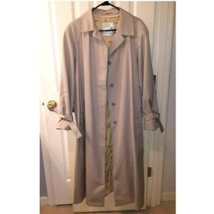 Women's Vintage Plus Size Trench Coat Rain Coat